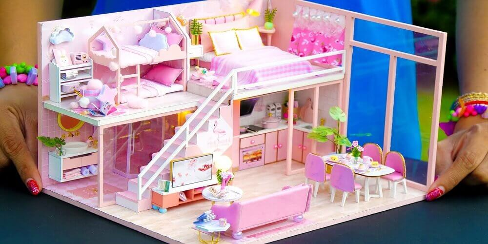 What is the best age to get dollhouses for your child?